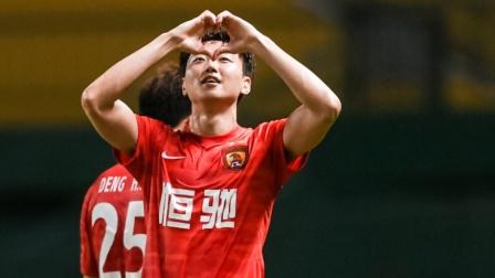 广州队2-0沧州雄狮取2连胜 高准翼世界波