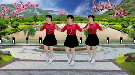 郴州冬菊广场舞【最亲的人】64步健身舞