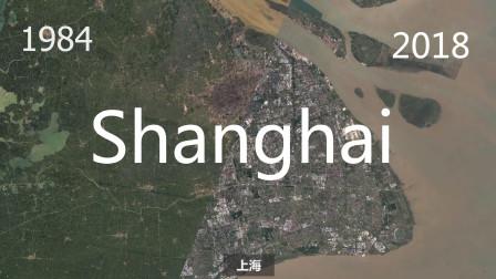 卫星地图下的城市演变(1984年-2018年)(3336)