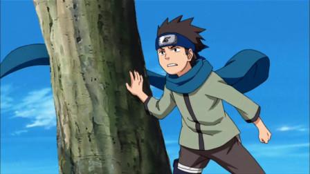 木叶丸巅峰高光时刻,螺旋丸秒佩恩,大喊自己是猿飞一族的