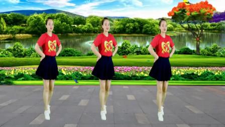 精选广场舞《火火的姑娘》美女动人舞姿,每天跳一跳减肥有瘦身!