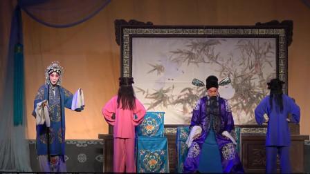 秦腔传统戏《二堂舍子》,美女在演唱上入情入境,听着舒服过瘾