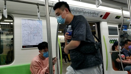 上海地铁12号线雪碧三世嘉善路-陕西南路(终点站金海路)
