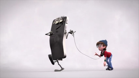 未来世界被手机统治,人类不仅变成宠物,还要被用狗绳牵着!