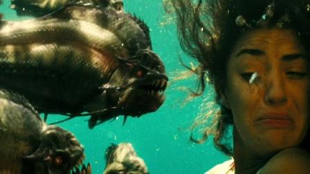 远古食人鱼闯入泳池,游客们倒了大霉!