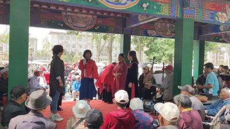 钱老师御景园演唱☞绣红旗☜优酷视频上传李国庆。