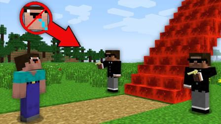 我的世界MC动画:为什么安全如此强烈地保护这个红宝石阶梯