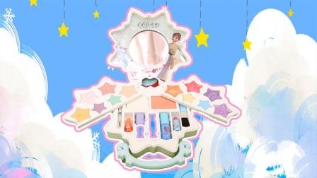 冰雪奇缘:梦幻冰晶化妆玩具分享