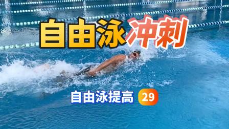 【自由泳提高】29.冲刺|梦觉教游泳