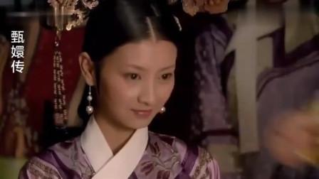 甄嬛传:皇上当着妃嫔的面翻牌子,皇后得意,华妃很尴尬!