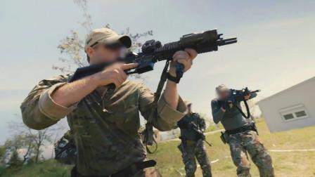 美国特种部队和北马其顿进行近距离战斗技能训练(3338)