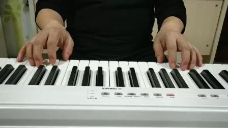 钢大教学视频《小星星》分解和弦弹奏★李明生示范弹奏