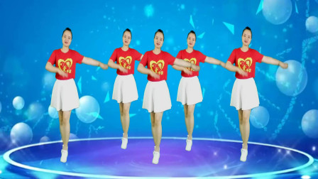 精选广场舞《九九女儿红》歌声悦耳动听,美女舞姿优美迷人!
