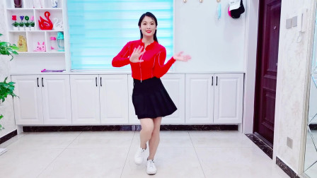 精选广场舞《受了伤的狼》动感舞步,跳出性感马甲线!