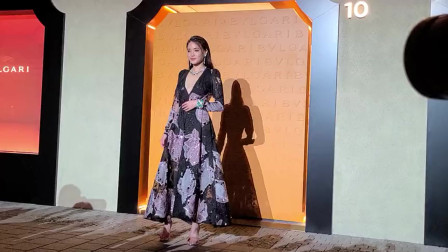 舒淇镂空印花长裙优雅性感 把姐姐气质好绝打在公屏上
