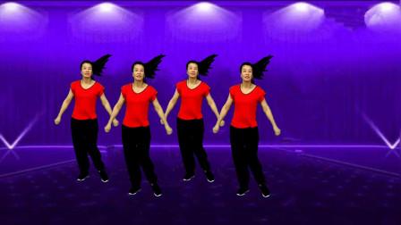 广场舞《天生一对》简单易学32步