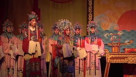 秦腔《三对面》,兰萍公主伶牙俐齿,包文正据理力争,演唱真激烈