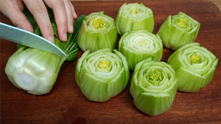 自从学会上海青这样做,是我家待客必做的拿手菜,好吃又有面子
