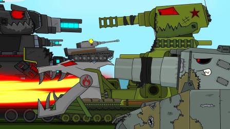 坦克世界动画:kv44的游戏