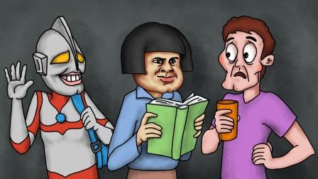 咖子谜题:这三位同学当中,谁是外星人?