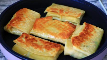 早市的馅饼为啥这么好吃,做法和调馅有技巧,学会你也能出摊