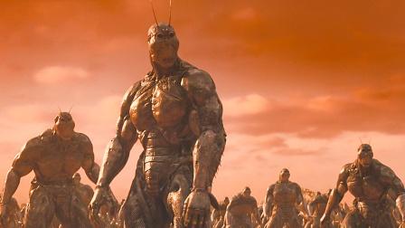 500年后火星出现蟑螂人,战斗力超强,人类毫无还手之力!