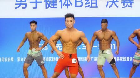 2021无锡健身健美公开赛, 男子健体B组决赛