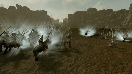 全面战争战锤2294mod 卡拉克龙牙堡 猎人远征军 VS 矮人
