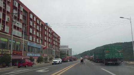 从四川广元剑阁县到广元市区看看一路风光