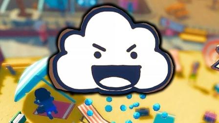 整蛊白云05:迷你小云散播僵尸病毒,城市里的人都变怪物了