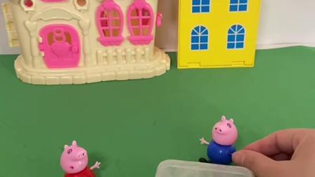 趣味玩具:乔治不让佩奇吃糖,最后又后悔了!