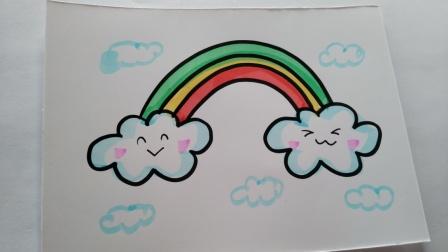 简笔画.彩虹