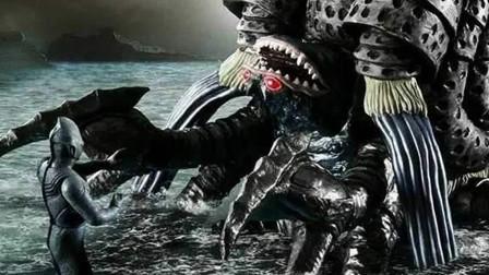 加坦杰一共出现3次,杀死迪迦后接连削弱,第三次甚至不给皮套!