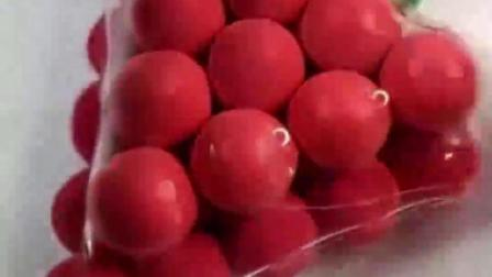 给红色葡萄做个面膜