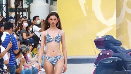 2021北海岸时尚艺术季WAVE SHINE品牌夏日泳装秀