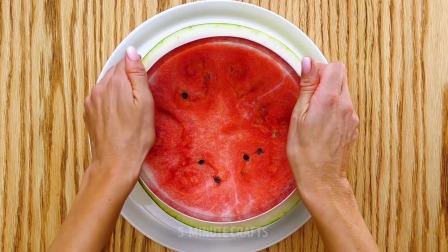 夏天来一个西瓜蛋糕不要太爽啊