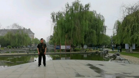 吕炳松,传统杨氏太极拳85式行功架