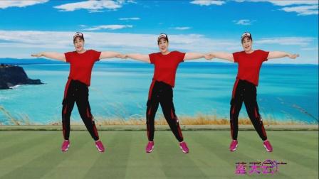 新版DJ健身操《爱情小偷》腰腹手臂锻炼,超级暴汗瘦身