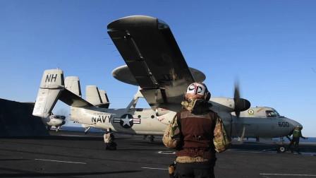 "罗斯福号航母在""Northern Edge 2021""演习中起飞E-2和FA-18F(3340)"