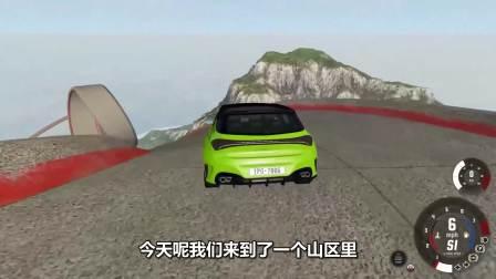 绿色的小车真是厉害!