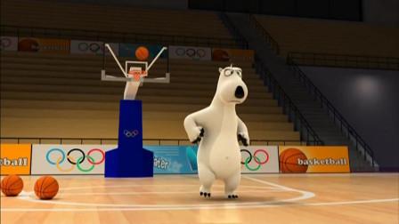 贝肯熊:贝肯随手一扔,竟然背着蓝框也能进,自己都不敢相信