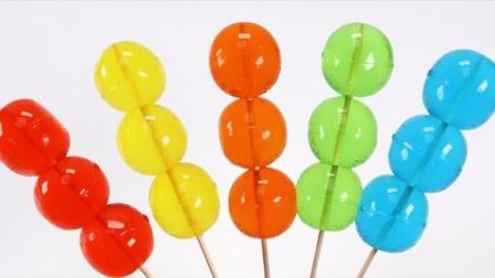 创意DIY布丁糖果儿童益智玩具,循环创意激发宝宝色彩创造力!