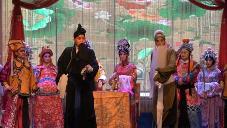 秦腔《闯宫抱斗》舞台表演精彩,艺术的魅力使得现场戏迷掌声不断