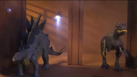 小女孩于心不忍,她决定打开大门,给与恐龙们本该拥有的自由