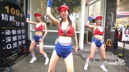 美女舞蹈表演,理发店开业,小姐姐们舞蹈表演