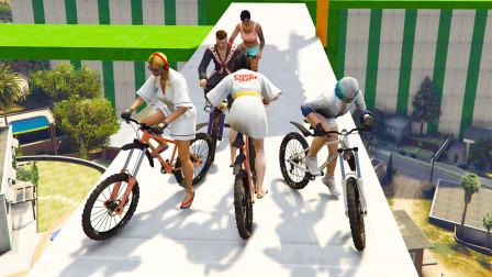 【GTA5】非常治手残的山地自行车图