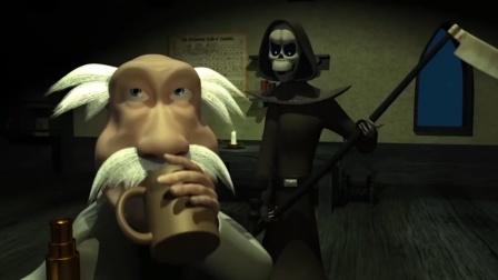 死神也有翻船的时候!本想快点带走老人,结果却让他返老还童