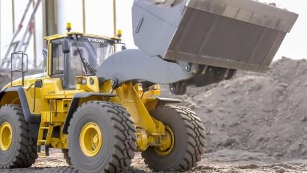 工程车玩具装载机帮助倾卸车运输材料