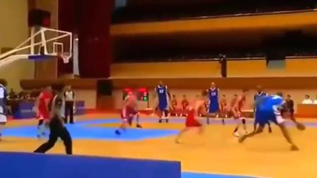 朝鲜人打篮球什么水平?恕我直言根本无法参加国际比赛!