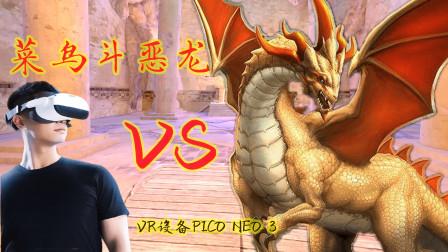 VR一体机Pico Neo3评测:体验一把勇者斗恶龙,真实感绝佳!